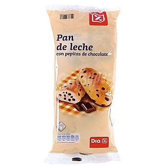 DIA pan de leche con pepitas de chocolate Bolsa 365 gr