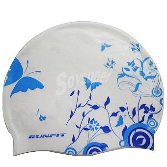 RUNFIT Flower Gorro de silicona estampado