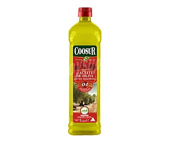 Coosur Aceite de oliva suave Botella de 1 l