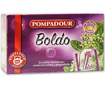 Pompadour Hojas de Boldo 20 Bolsitas
