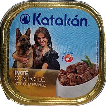 KATAKÁN Paté con pollo para perros Tarrina de 300 g