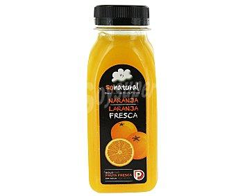 SoNatural Zumo de naranja fresca 250 mililitros