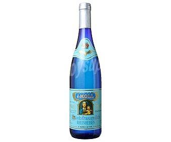 Vino blanco con denominación de origen Rheinhessen liebfraumilch Botella 75 cl