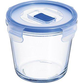 LUMINARC Pure Box Active Hermético redondo con tapa transparente y azul 84 cl 84 cl