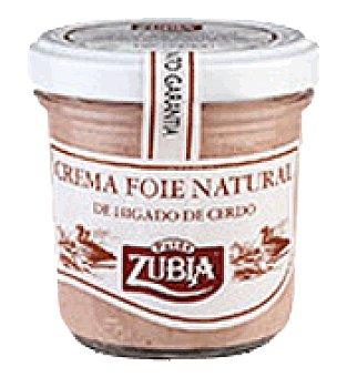 Zubia Crema foie natural zubia 100 g