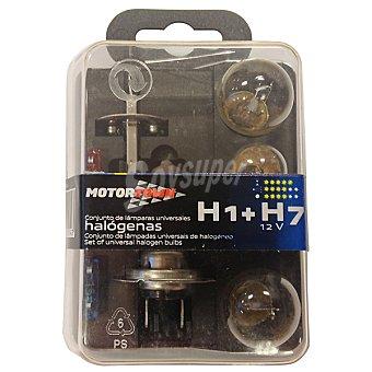 MOTORTOWN H7 H1 kit de lámparas de automóvil universales halógenas