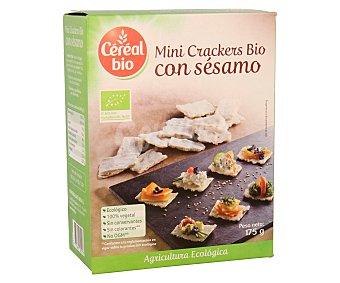 CEREAL BIO Mini crackers ecológicos con sésamo 175 gramos