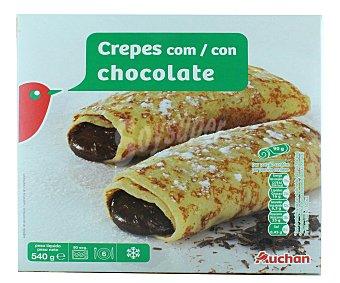 Auchan Crepes con Chocolate Ultracongelados 540g