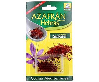Sabater Azafrán en hebras 0,333 g