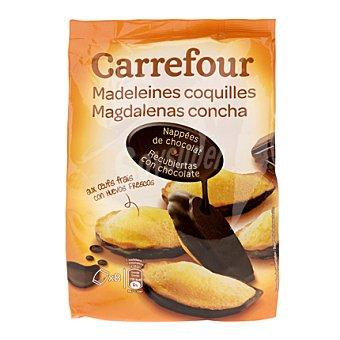 Carrefour Magdalenas Concha de Chocolate 200 g
