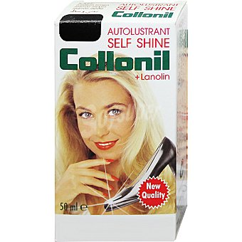 COLLONIL Self Shine Limpia calzado líquido negro botella 50 ml 50 ml