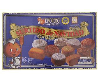 E.moreno Surtido de dulces navideños 700 gramos