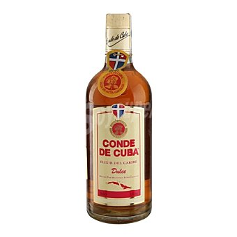 Conde de Cuba Ron elixir dulce 70 cl