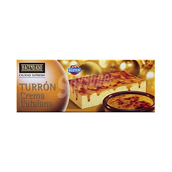 Hacendado Turrón crema catalana Tableta 150 g