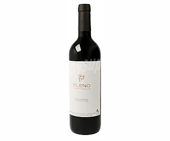Pleno Vino tinto con denominación de origen Navarra Botella de 75 cl
