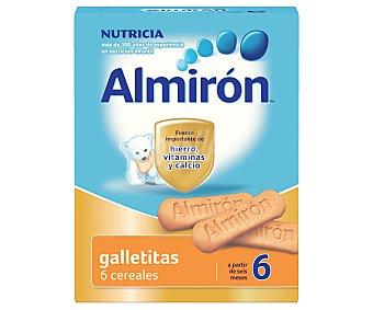 Almirón Nutricia Galletitas 6 cereales, a partir de 6 meses 180 Gramos