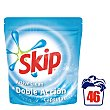 Detergente cápsulas azul Active Clean doble acción Paquete 46 lavados Skip