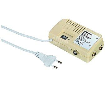 QILIVE G2115180 Amplificador de señal de antena de 1 entrada y 2 salidas, hasta 18dB de ganancia