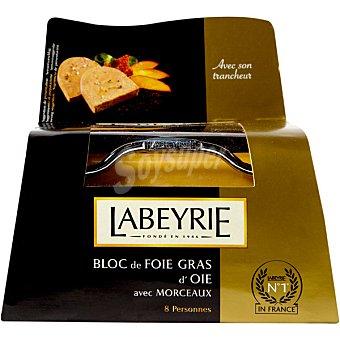 Labeyrie Bloc de foie gras de oca envase 300 g con regalo de un cortador Envase 300 g