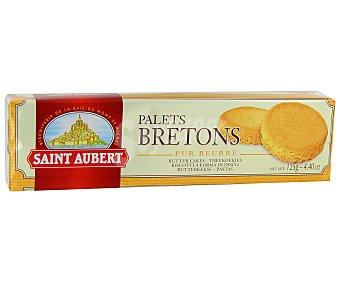 Saint Aubert Palets bretons Paquete 125 g