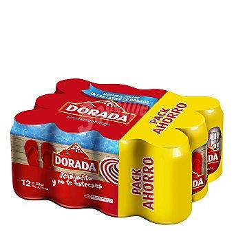 Dorada Cerveza Pack 12x33 cl