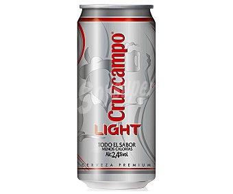Cruzcampo Light Cerveza light Lata 33 cl
