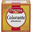 Colorante alimentario Caja 35 g Ducros