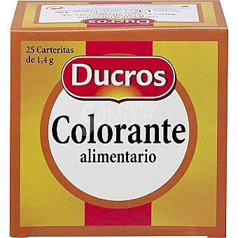 Ducros Colorante alimentario Caja 35 g