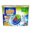 Discs detergente máquina líquido combate malos olores 4 en 1 caja 50 dosis Wipp Express