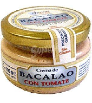 Pescaviar Chovas Crema de queso con Bacalao y tomate especial para untar, salsas y rellenos 100 g