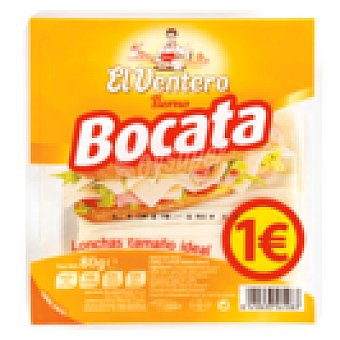 El Ventero Queso tierno lonchas Envase 80 gr