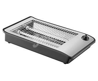COMELEC TP 7064 Tostador horizontal hasta 4 rebanadas, cualquier clase de pan, pared de toque frío.