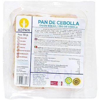 Adpan pan de cebolla sin gluten sin leche sin huevo 2 unidades envase 100 g 2 unidades