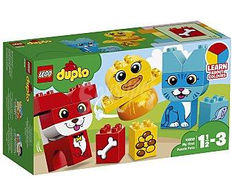 Lego duplo Juego de construcciones con 18 piezas Mi primer puzle de mascotas, Duplo 10858 lego