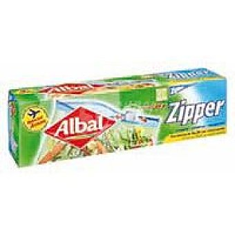 Albal Bolsa zipper pequeña 1 litro Caja 15 unid
