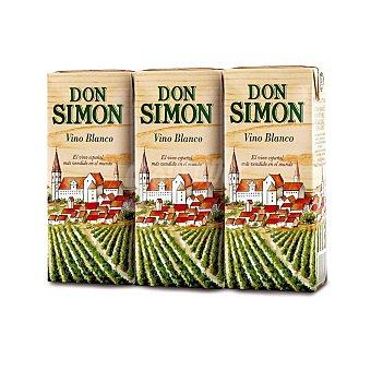 Don Simón Vino blanco de mesa 3 x 200 ml