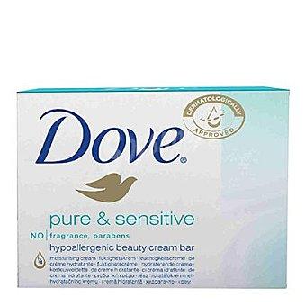 Dove Jabón pure&sensitive en pastilla Pack 2x100 g