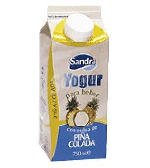 Sandra Yogur líquido con pulpa de piña colada 750 g