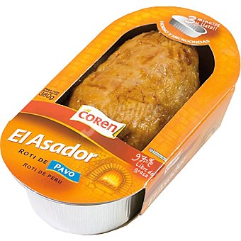 Coren Roti de pavo asado Envase 380 g