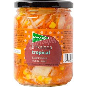 El Corte Inglés ensalada tropical frasco 250 g neto escurrido