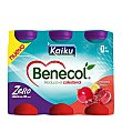 Yogur zero granada Pack de 6x92,5 g Kaiku Benecol
