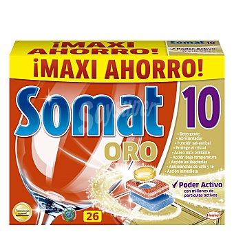 Somat Detergente en pastillas para máquina 26 lavados