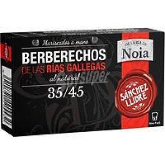 Sanchez llibre Berberecho de las Rías Gallegas 35/45 Lata 63 g