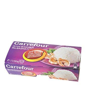 Carrefour Arroz basmati microondas Pack de 2x150 g