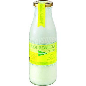 El Corte Inglés Yogur líquido batido con limón Envase 500 g