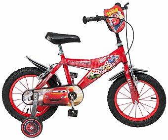 Toimsa Bicicleta Infantil Cars 1 Velocidad, 14 Pulgadas 1 Unidad