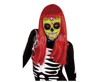 DÍA DE LOS MUERTOS Máscaras Calaveras Katrinas, Sugar Skull, 1 unidad