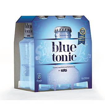Kas Tónica blue tonic Pack 6 botellines x 20 cl - 1,2 l