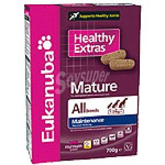 EUKANUBA HEALTHY EXTRAS Mature & Senior Galletas para perro sénior Paquete 700 g