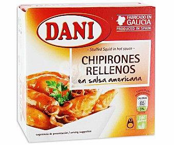 Dani Chipirones en Salsa Americana Lata 96 Gramos